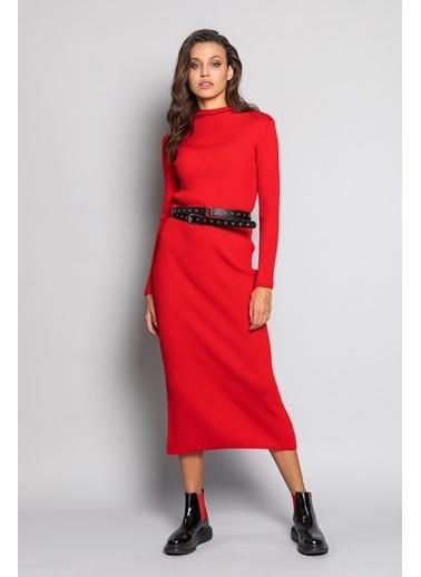 Ashleys Elbise Kırmızı